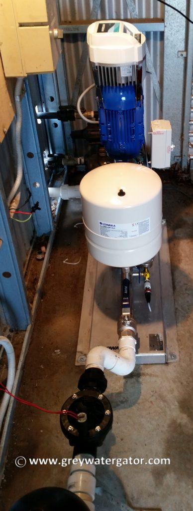 Pump and Hydrovar